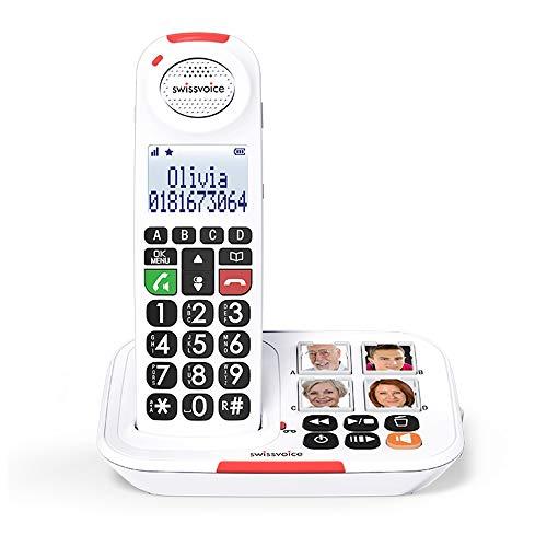 swissvoice Xtra 2155 - Teléfono Fijo, Blanco