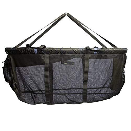Sonik schwimmende Wiegeschlinge SK-TEK Floating Weightsling inkl. Transporttasche - Grüner Wiegesack mit Reißverschlusssicherung und Stormpoleadapter zu Sicherung, Größe:Large