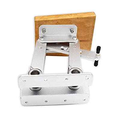 Outboard Motor Bracket , Marine Stainless Steel Auxiliary Kicker Mount Up To 25hp for 2-Stroke Boat Motors by spareflying