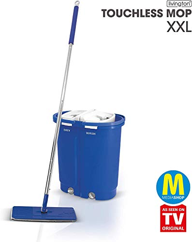 Bester der welt Mediashop Livington Touchless Mop Deluxe XXL – Scheibenwischer, Blendenschaufel -…