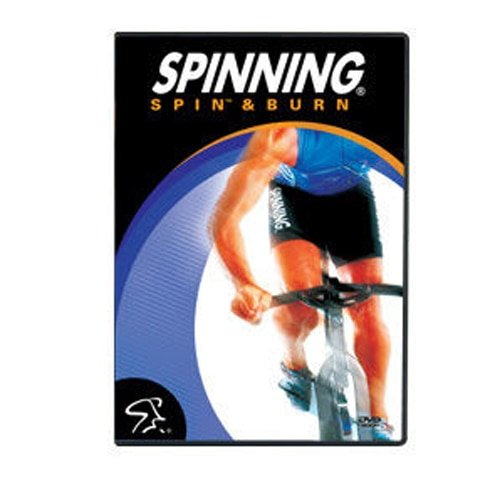 SPINNING® Fitness DVD Spin und Burn - Bicicletas estáticas Fitness (Interior), Color n/a