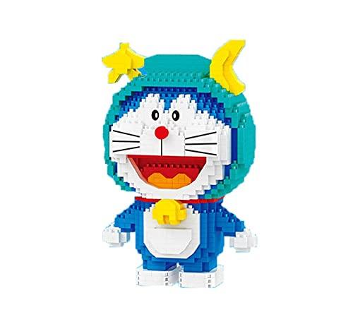 Juego de minibloques de Doraemon de Bloque de minibloques de Doraemon, serie de constellación, juego de construcción de micro ladrillos, juguete 3D, regalo para niños y adultos, A