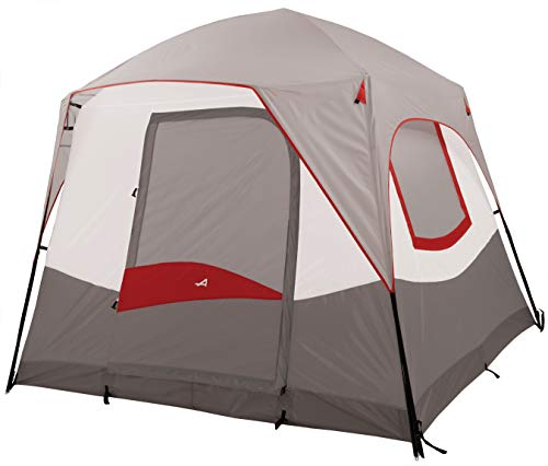 ALPS Mountaineering Camp Creek 4-Person Tent, Gray/Red