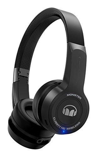 Monster Clarity HD Bügel Ear Kopfhörer Kabellos Bluetooth schwarz