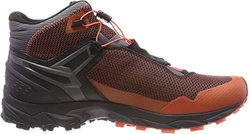 Salewa MS ULTRA FLEX MID GTX, Herren Trekking- & Wanderstiefel, Orange (Orange/magnet 4515), 41 EU (7.5 UK)