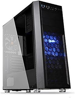 PC-TECHゲーミングパソコン 最新9世代 i7 9700F 搭載 / GTX1650 4GB 搭載 / メモリー16GB / SSD 240GB / 1TB / DVDドライブ / 500W 80Plus / windows10 pro (GTX 1650(4GB), Versa H24(ブラック))