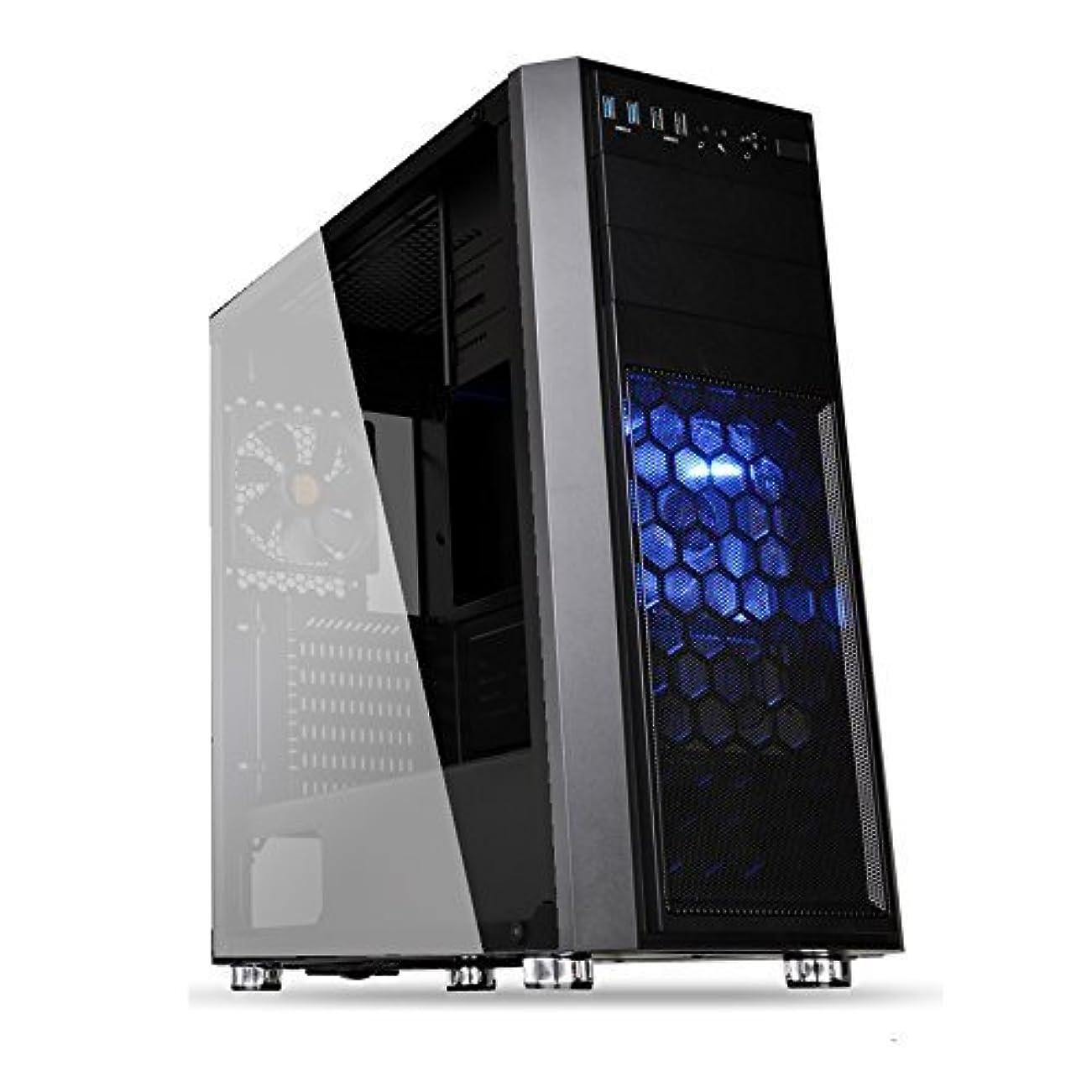 本を読むモーション泣き叫ぶPC-TECHゲーミングパソコン 最新9世代 i7 9700F 搭載 / RTX2070 8GB 搭載 / メモリー16GB / SSD 240GB / HDD 2TB / DVDドライブ / 600W 80Plus / windows10 pro (RTX 2070(8GB), Versa H24(ブラック))