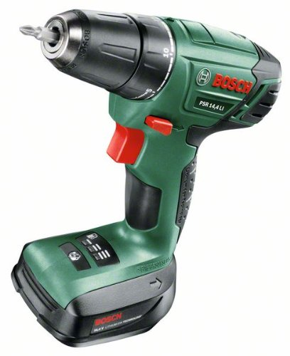 Bosch Home and Garden 0 603 954 300 Trapano Avvitatore con Batteria al Litio, 14.4 V