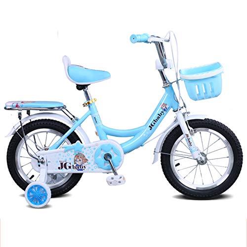 Bicicleta De 18 Pulgadas Para Niñas Y Niños, De 5 A 8 Años, Bicicleta De Equilibrio BMX, Bicicletas Para Niños, Ruedas De Entrenamiento, Llantas Neumáticas, Bicicleta Para Damas De Ciudad,Púrpura