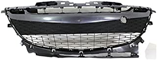 Koolzap For 10-11 Mazda3 Front Lower Bumper Grill Grille Assembly Black MA1036114 BBN2501T0K