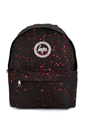 hype Speckle Rucksack (Schwarz/Rot)