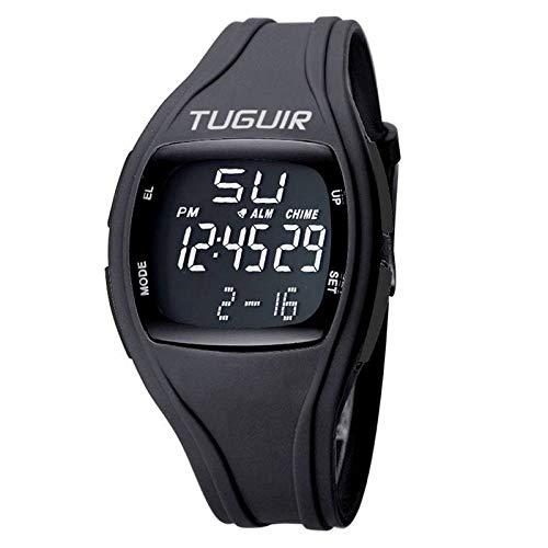 Relógio Masculino Tuguir Digital TG1602 - Preto e Preto