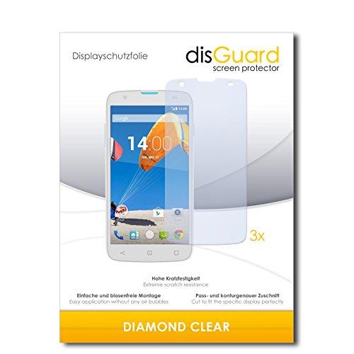 disGuard 3 x Schutzfolie MobiWire Taima Bildschirmschutz Folie DiamondClear unsichtbar