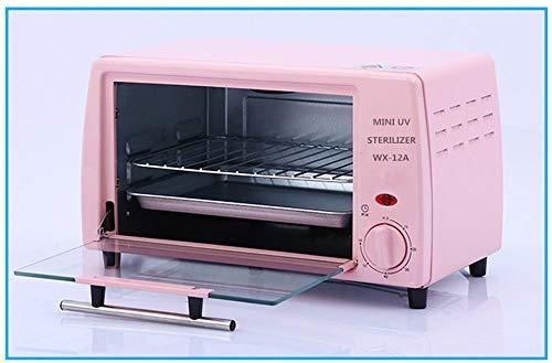 Bewinch Armadio per sterilizzatore,Armadio di Disinfezione UV A Doppio Strato con Funzione di Temporizzazione per Asciugamani, Strumenti per Parrucchieri, Utensili da Cucina