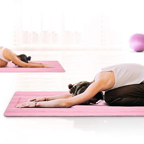 Tikaton Hot Yoga Mat Non Slip
