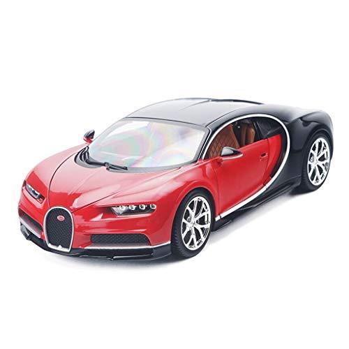 LKOER Modelo de Coche 1:18 Bugatti Kailong Star Simulation Alloy Die-Casting Die-Casting Adornos de Juguete Deportes Colección de Autos Joyería 25x11x6cm (Color: Rojo) jinyang (Color : Red)
