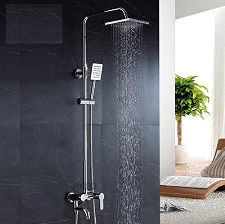 Dwthh Bad Dusche Set Zoll Regen Duschkopf Bad Dusche Mixer Mit Handbrause