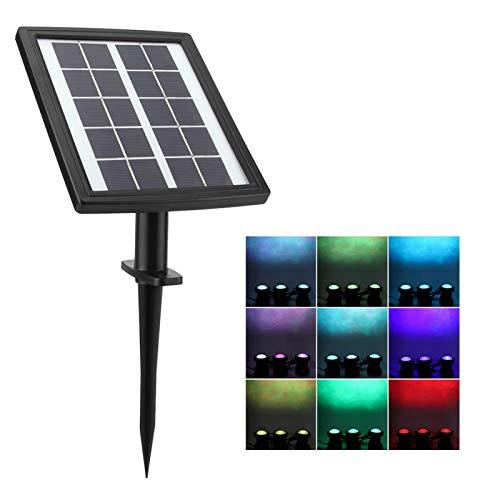 Omabeta Ahorra energía Luz subacuática LED 36LED Impermeable para la decoración del Paisaje del Patio