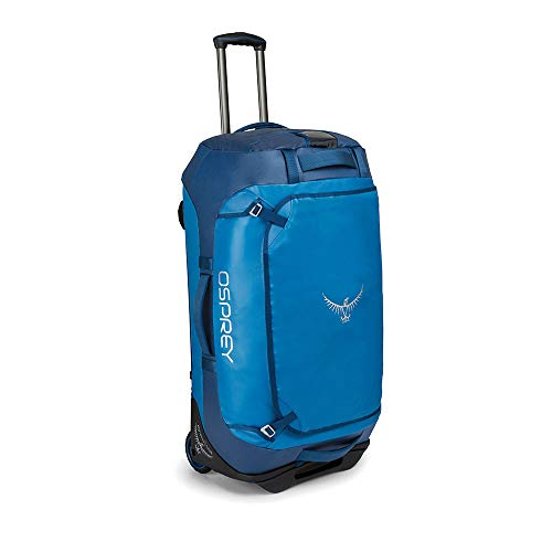 Osprey Rolling Transporter 90 Unisex Durable Wheeled Travel Pack - Kingfisher Blue (O/S)