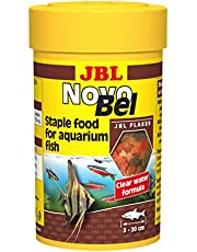 JBL 3012010 NovoBel 100 ml, Main food flakes for all aquarium fish