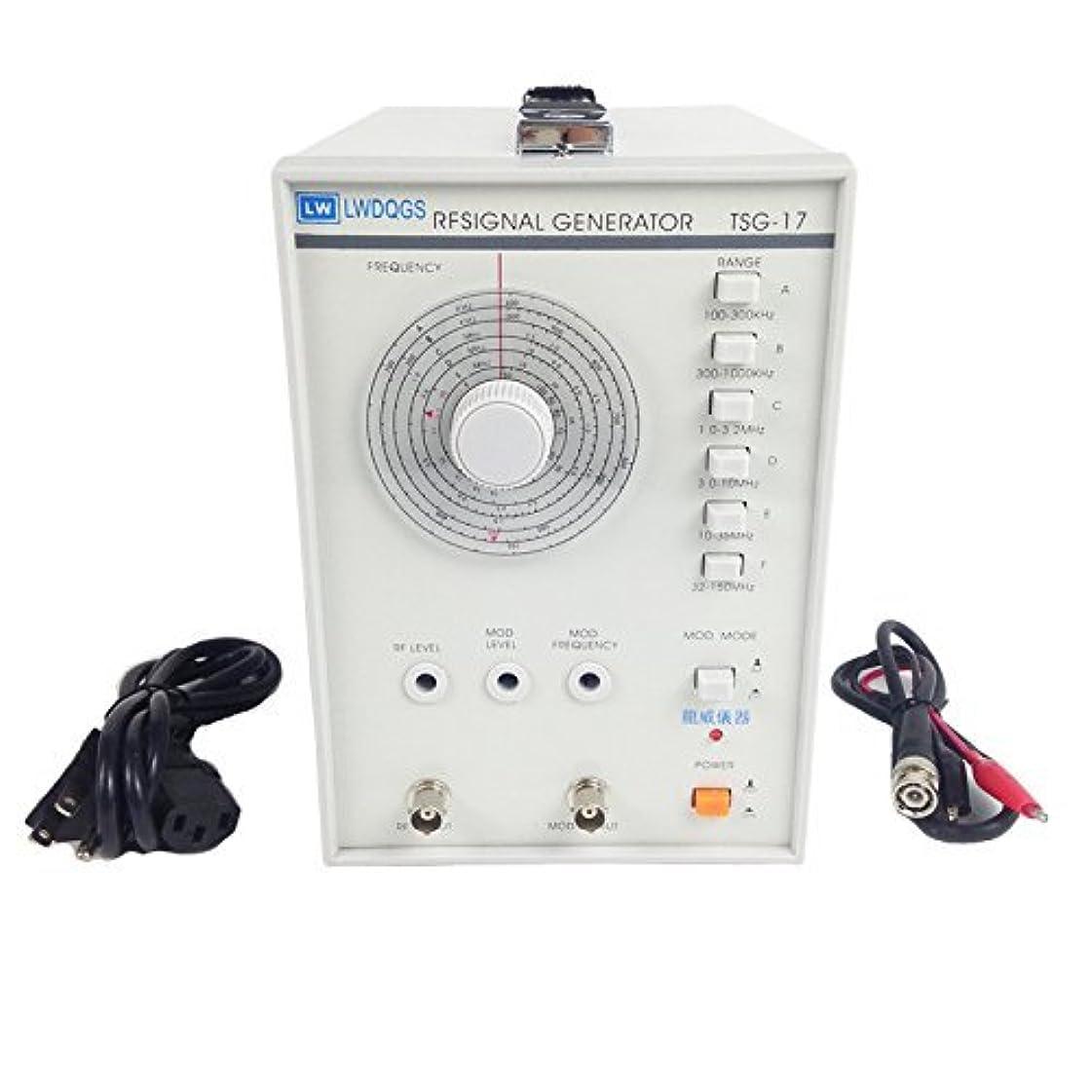 途方もない間違い液体TIWWS TSG-17 100kHz?150MHzの正弦波および振幅変調高周波信号発生器 …