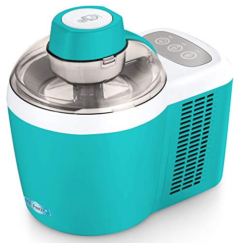 Elite Gourmet Freezing Self-Refrigerating Ice Cream Maker, Frozen Yogurt, Sorbet, Gelato Treat, 1.5 Pint, EIM-700T