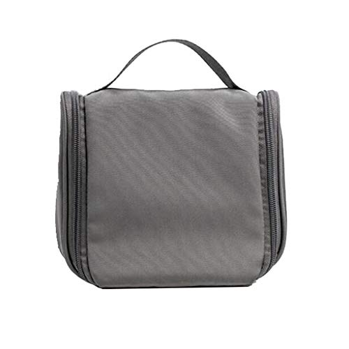 Pliant Cosmétique Sac Suspendu De Stockage Étanche Grande Capacité Multi-Fonction Portable Voyage Simple Lavage Universel 3 Couleur 190 * 75 * 175mm MUMUJIN (Color : Dark Gray)