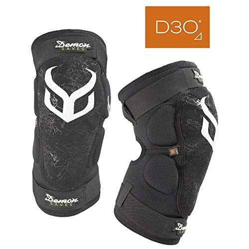 Demon Hyper X D30 V3 Mountain Bike Knee pad | BMX | MX | Snowboard (XLarge)