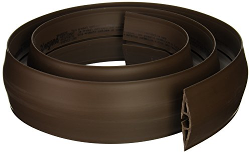 C2G/Cables to Go 16329 Wiremold Corduct Overfloor Cord Protector, Brown (5 Feet)