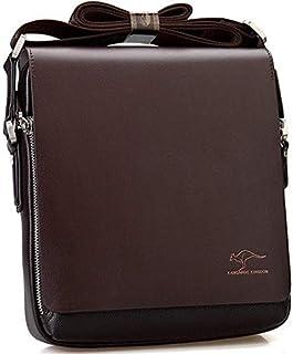 Messenger Bag From Kangaroo Kingdom Brown Color