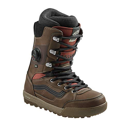 Vans Invado Pro Snowboard Boots 2021-12.0/Brown-Red