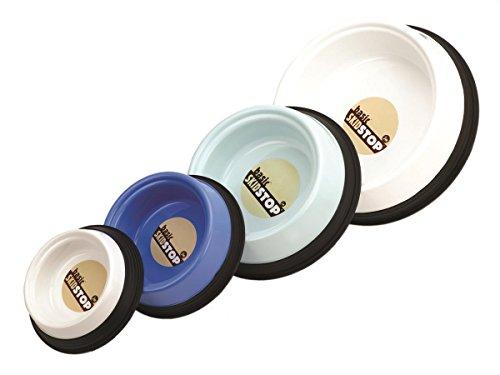 JW Pet Company Skid Stop Basic Pet Bowl, Large, Colors Vary