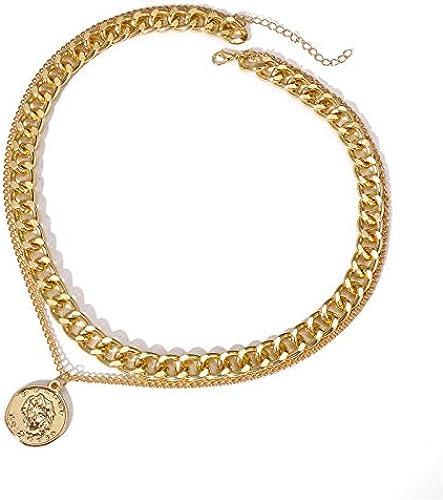 Jewellery for Women Stylish Pendant Necklace for Women Girls Gold YBNK 5819