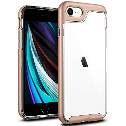 Caseology Skyfall for Apple iPhone SE 2020 Case for iPhone 8 Case (2017) for iPhone 7 Case (2016) - Gold