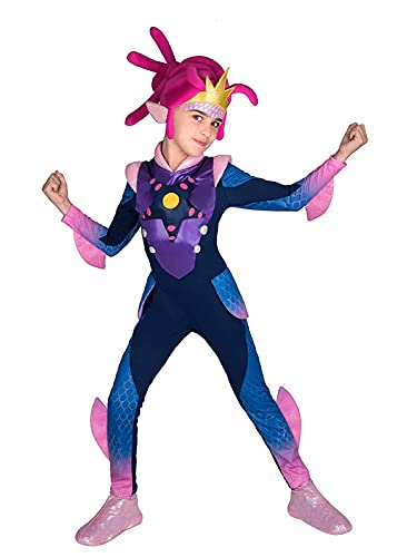 DISBACANAL Disfraz Cece niña Zak Storm - 5-6 añ
