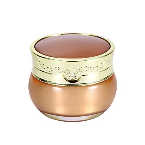 Beaupretty Contenants D'échantillons Minuscules Contenants de Voyage de Maquillage Rechargeables avec Couvercles à Vis pour Shampooing à La Crème pour Voyage 30G