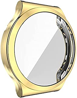 Full Protection Case Cover For Huawei Watch GT2 Pro Smart Watch - Gold