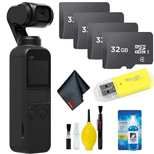 DJI Osmo Pocket Gimbal + Essential Accessories + 128GB Memory Card