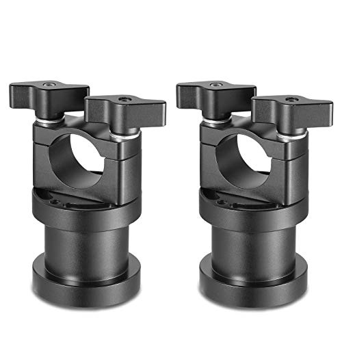 SMALLRIG Adapter for 25mm Handheld Ring to Ready Rig GS Stabilizer, Pack of 2-2173