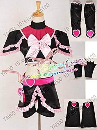 ふたりはプリキュア キュアブラックコスプレ衣装 コスチューム 変身 仮装 ステージ服 舞台 ハロウィン クリスマス