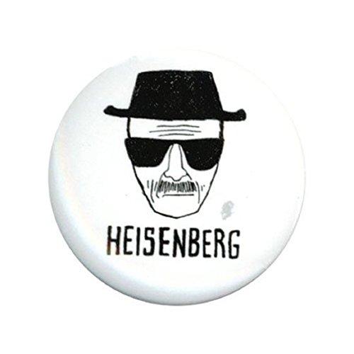 Breaking Bad Heisenberg 1.25 Inch Button
