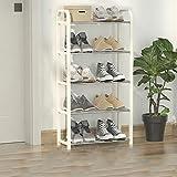 Shoe rack Zapatero Simple, ensamblaje de plástico, gabinete de Zapatos económico para el hogar, a Prueba de Polvo, Dormitorio de Estudiantes, Entrada de Dormitorio, pequeño Zapatero