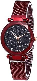 Luxury Starry Sky Women Watches Rose Gold Bracelet Rhinestones Quartz Ladies Watch Thin Steel Female Waistwatch