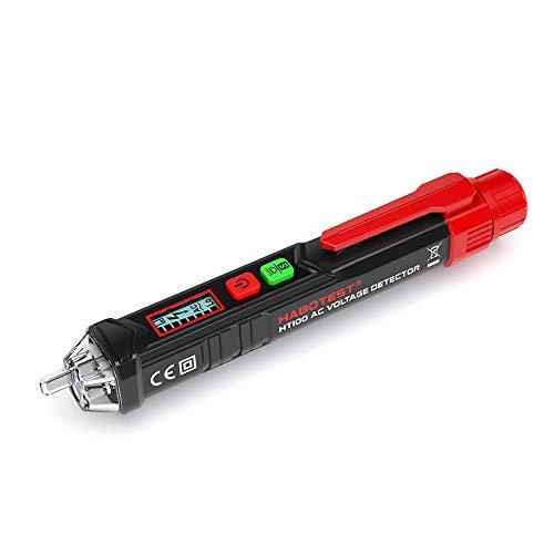 KKmoon Tester di Tensione CA Senza Contatto Portatile a Forma di Penna V ~ Rilevatore di Allarmi con Allarme Sonoro e Luminoso