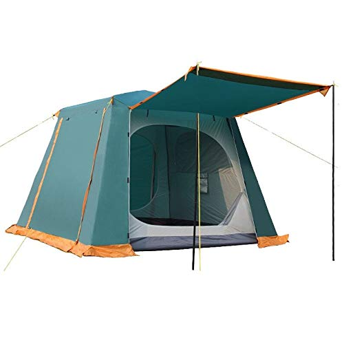 Meet all you like Tent with Instant Setup | Cabin Tent for Camping Sets Up in 60 Seconds 3-4 Person Tent