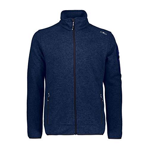 CMP Man Knitted Fleece Jacket 3H60747N Größe 58 Marine M934