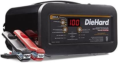 DieHard 71326 6/12V Gold Shelf Smart Battery Charger and 12/80A Engine Starter , Black