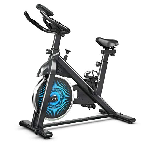 Lowest Price! Working Out Exercise Bike Bicycle Home Cardio Cycling Pulse Record on Grasps Fitness G...
