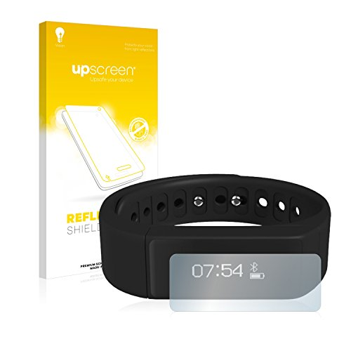 upscreen Entspiegelungs-Schutzfolie kompatibel mit DAX Hub I5 Smartwatch Sport – Anti-Reflex Displayschutz-Folie Matt