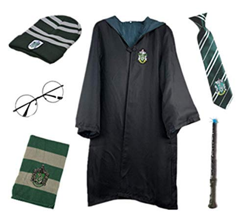 O.AMBW Niños Adultos Disfraz de Capa para Harry Potter, Traje de fantasía...